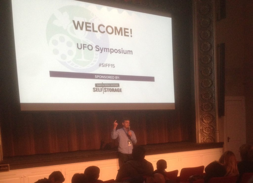 UFO SIFF 2015 James Fox intro-2